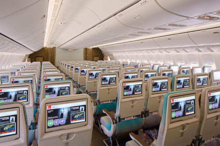 Emirates Economy Class on Boeing 777-300ER