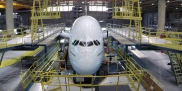 Emirates A380 overhaling på to minutter