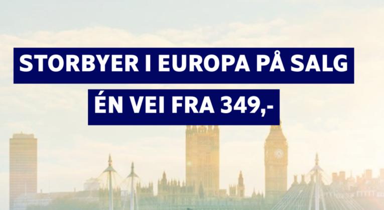 Storbyer i Europa på salg