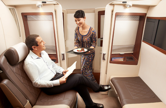 Singapore Airlines Airbus A380 Suite Class