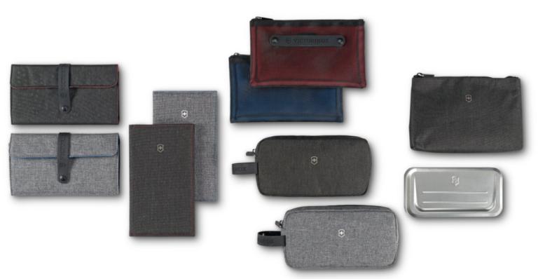 Amenity kits fra Victorinox og SWISS