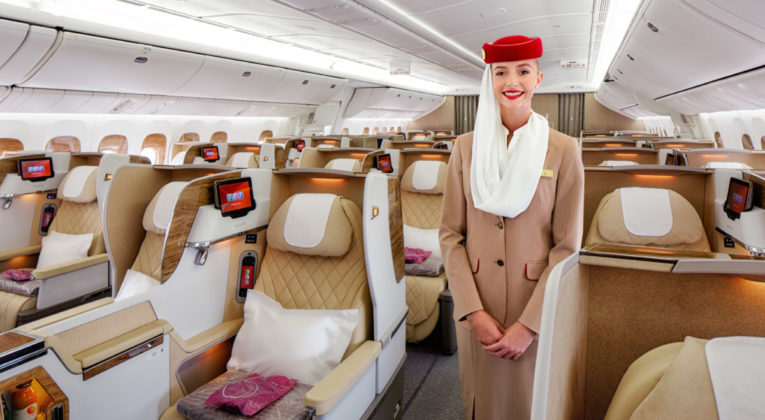 Emirates nye Business Class