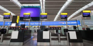 British Airways innsjekking Heathrow