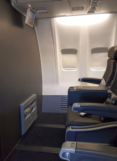 American Airlines First Class sete