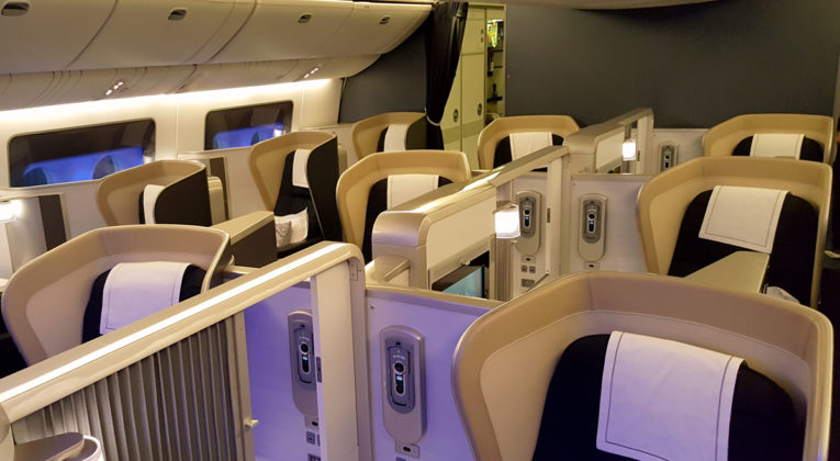 British Airways First Class Boeing 777-200ER