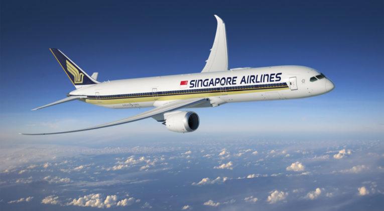 Singapore Airlines Boeing 787-10 Dreamliner