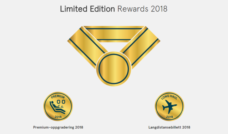 Limited Edition Rewards 2018