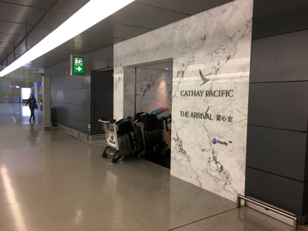 Cathay Pacific - The Arrival-lounge