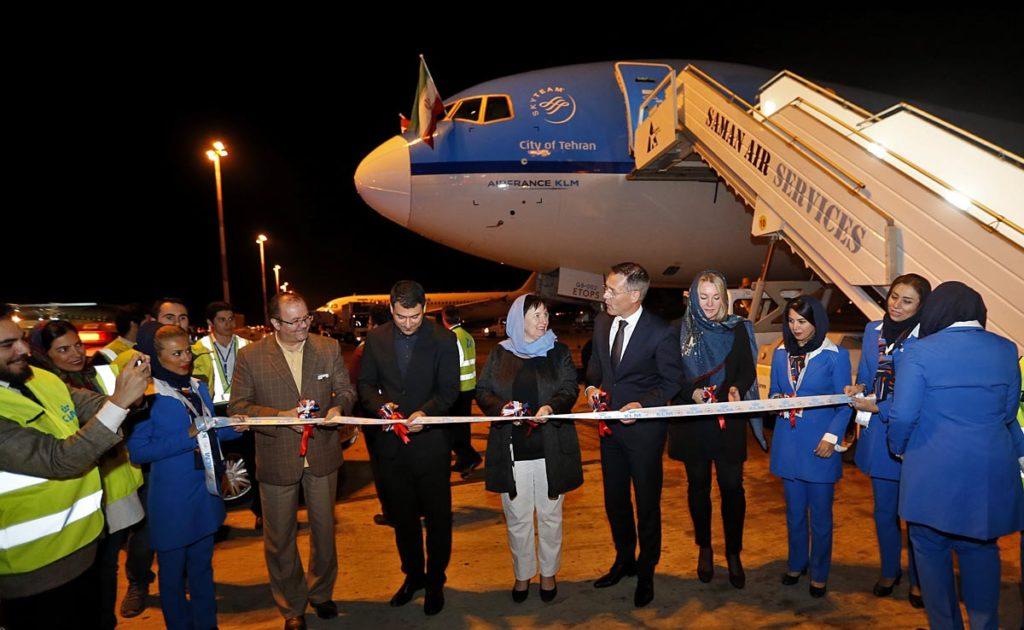KLM Teheran