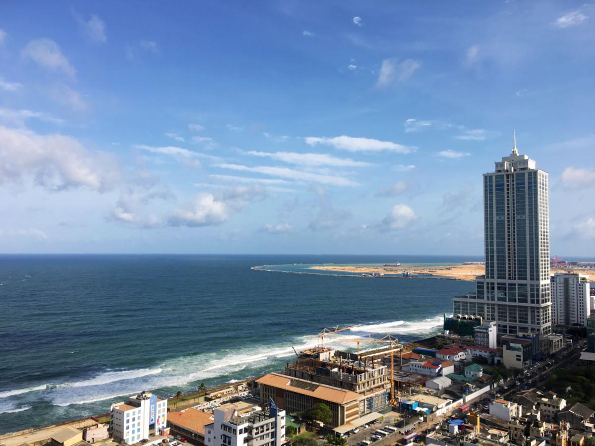 Utsikten fra hotellrommet