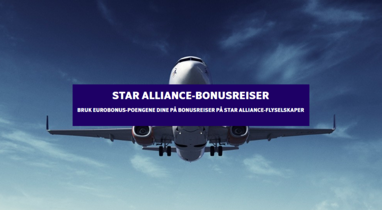 SAS Star Alliance-bonusreiser