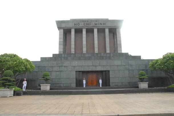 President Ho Chi Minh mausoleum i Hanoi