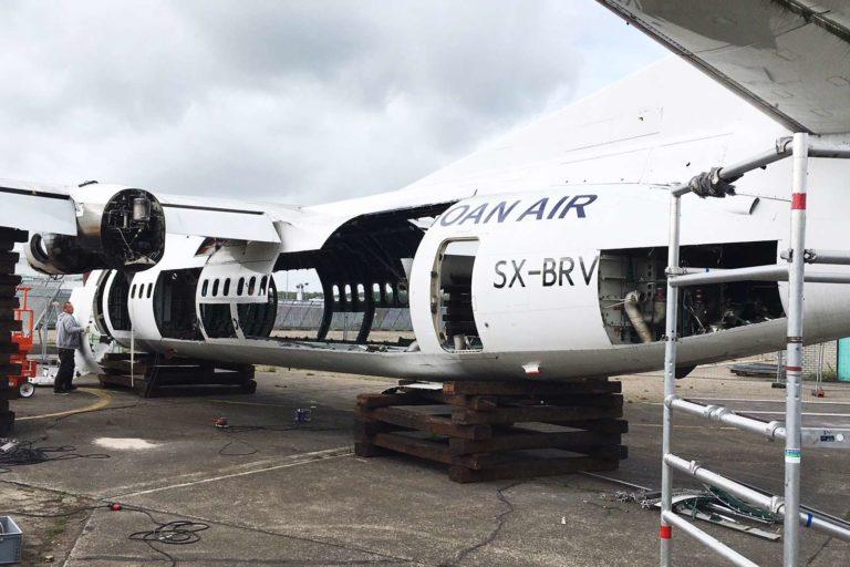 SX-BRV Fokker 50