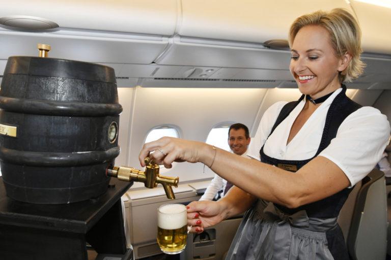 Oktoberfest-tradisjonen holdes i hevd hos Lufthansa