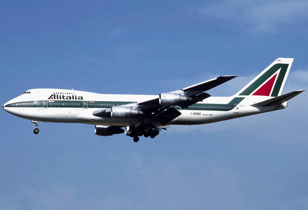 Alitalia Boeing 747-200B