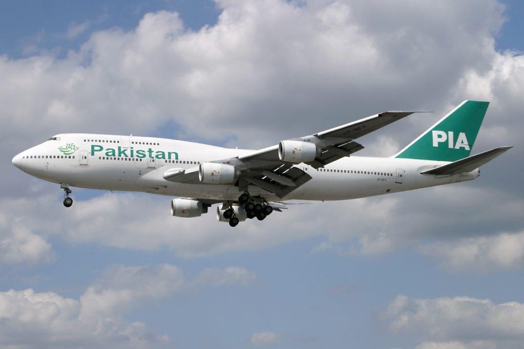 Pakistan International Airlines Boeing 747-300