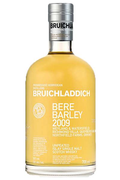 Bruichladdich Bere Barley Single Malt Scotch whisky