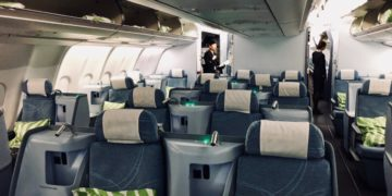 Finnair Business Class kabin