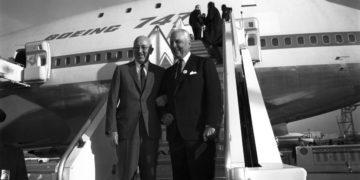 Verdens første Boeing 747