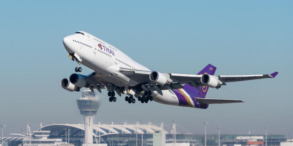 Thai Airways Boeing 747-400