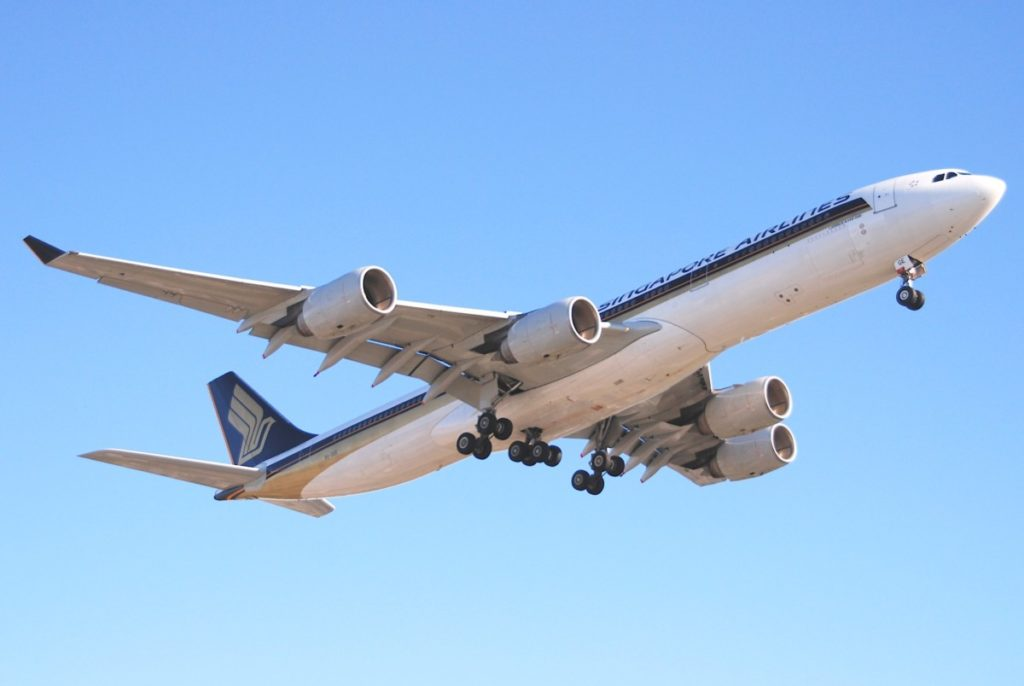 Singapore Airlines Airbus A340-500