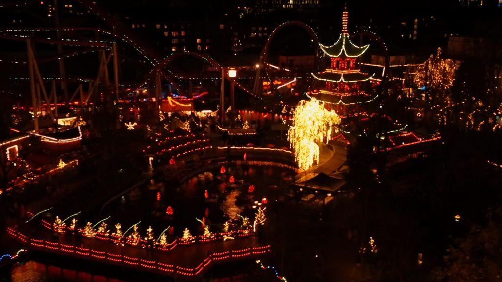 Julemarked i på Tivoli i København