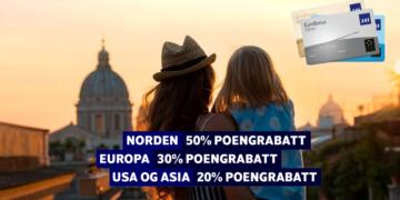 SAS EuroBonus poengrabatt