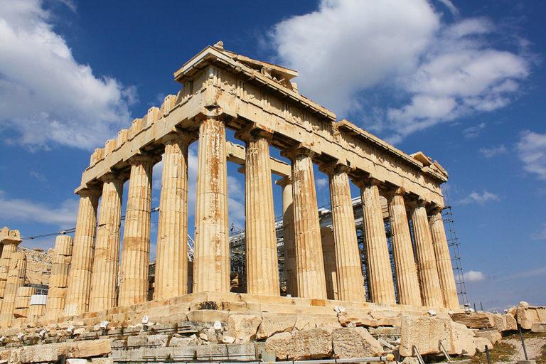 Panthenon Hellas Akropolis Athen