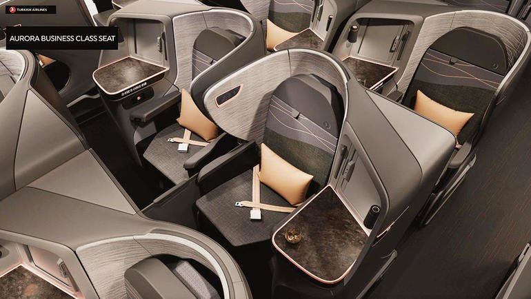 Nye Tukish Airlines Business Class