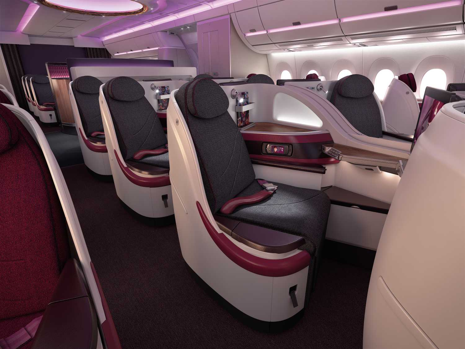 Qatar Airways Airbus A350 Business Class