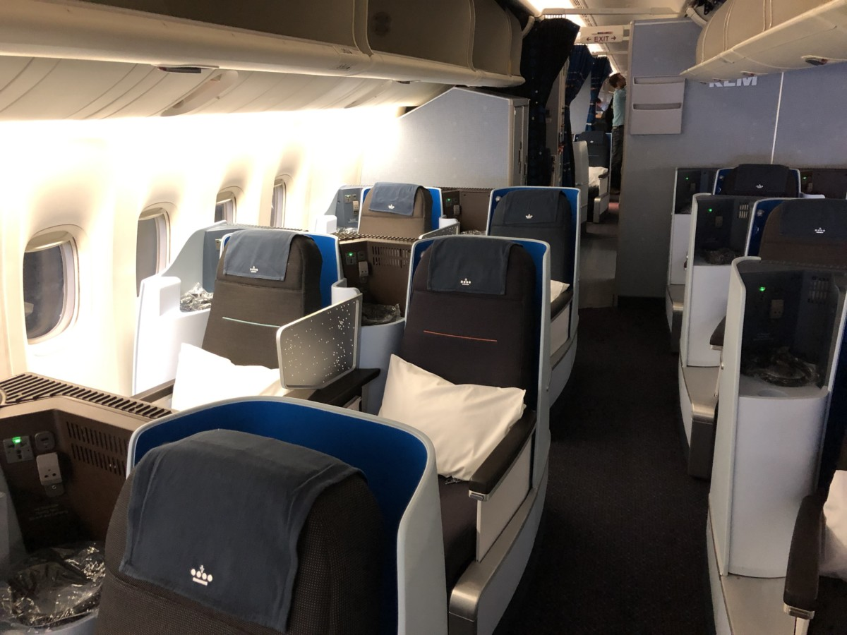 Boeing 777 World Business Class