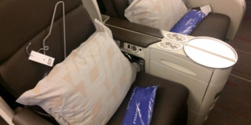 Air France business class-sete