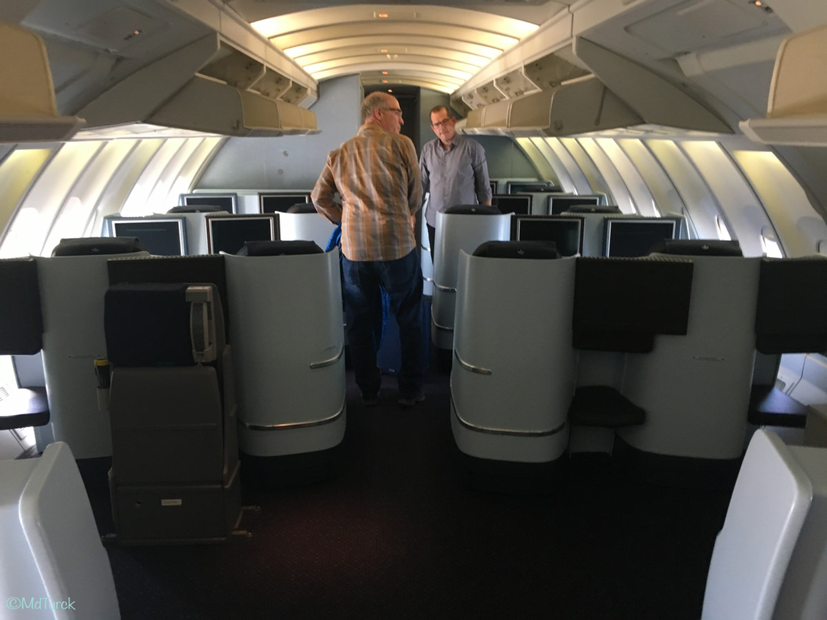 Boeing 747 World Business Class
