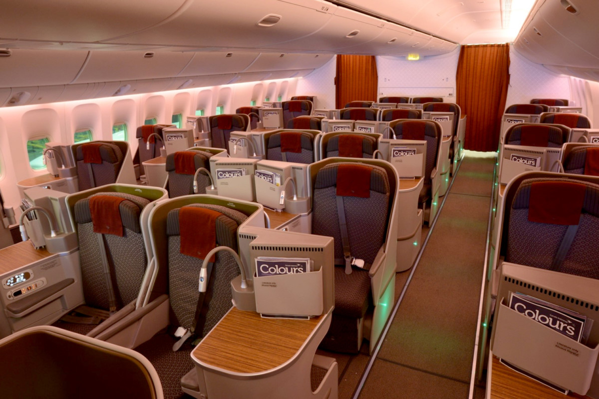 Garuda Indonesia Boeing 777-300ER Business Class
