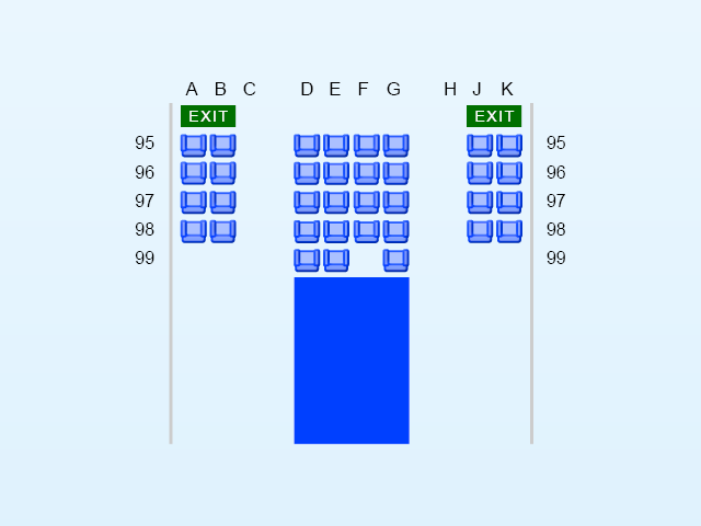 Lufthansa Airbus A380 setekart