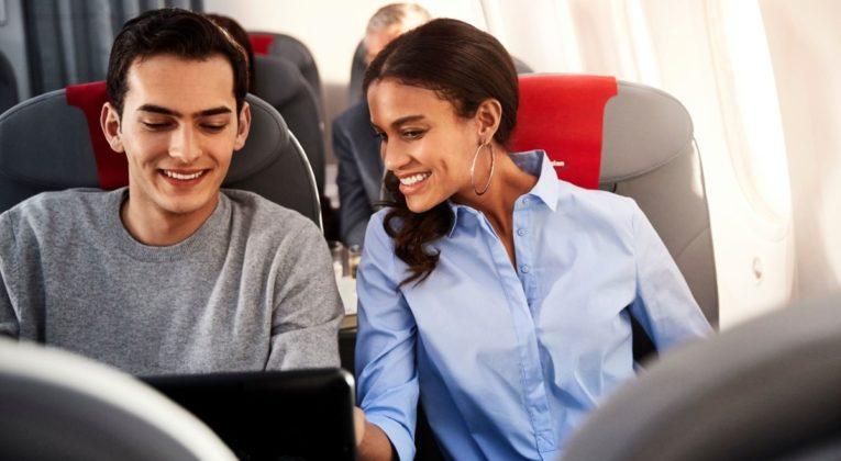 Norwegian Boeing 787 Dreamliner med internett
