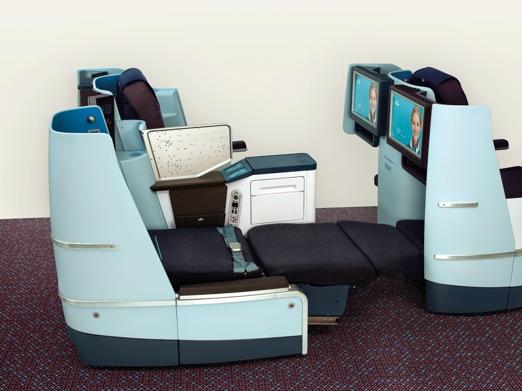 Boeing 747 og 777 World Business Class
