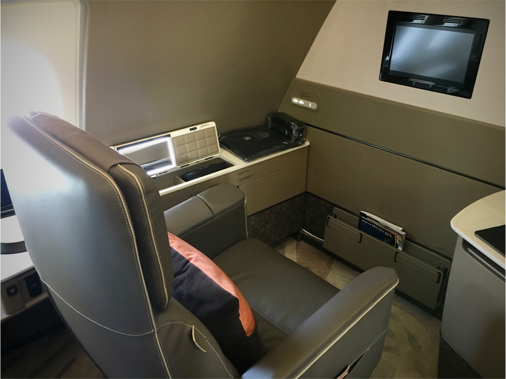 Singapore Airlines nye Airbus A380 first class suites