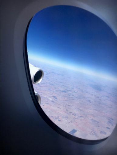 Utsikt fra vinduet