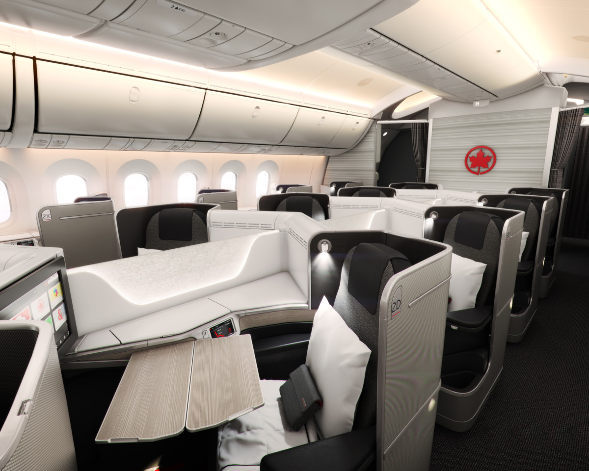 Air Canada Signature Class Boeing 787 Dreamliner
