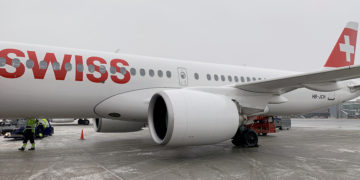 SWISS Business Class Airbus A220