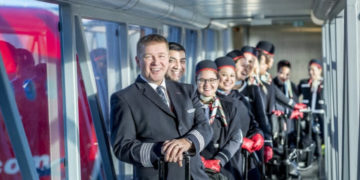 Norwegian Dreamliner crew