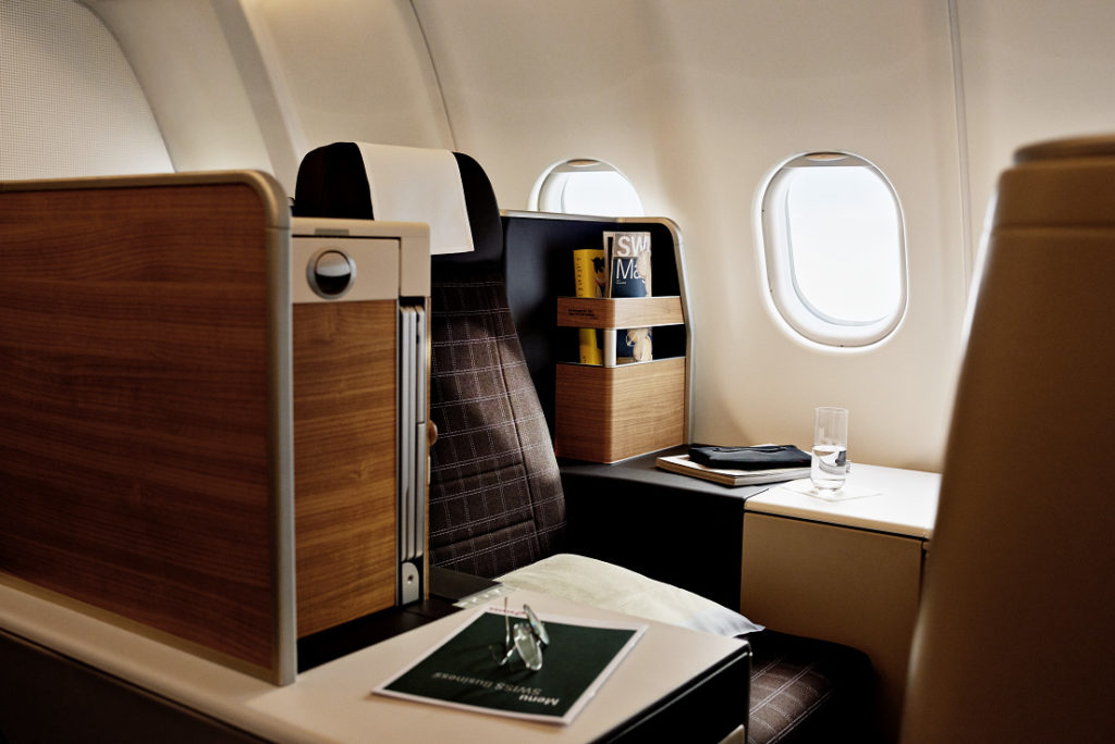 SWISS Airbus A340 Business Class