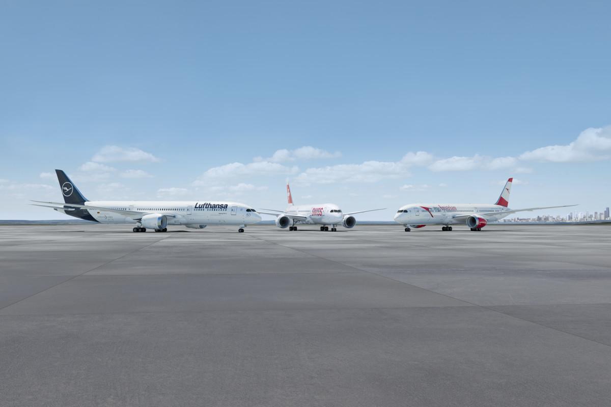 Lufthansa Boeing 787-9 Dreamliner