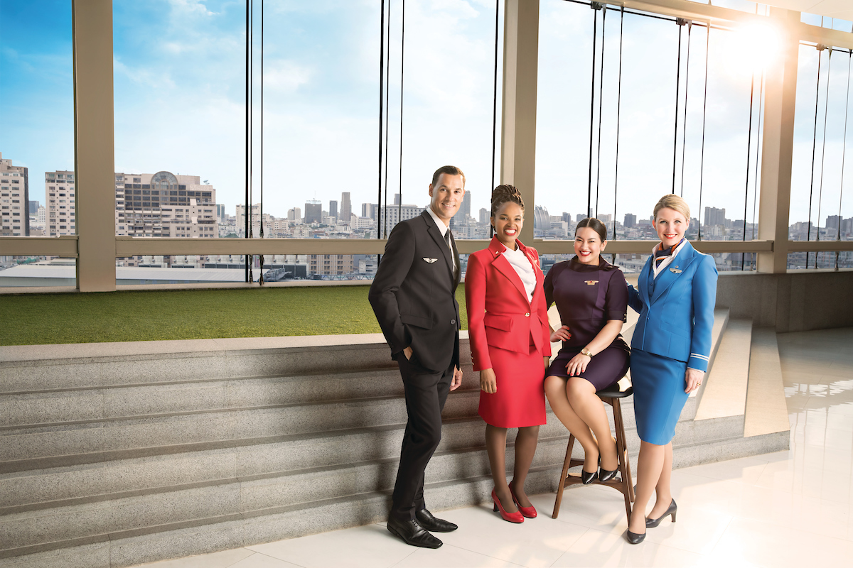 KLM, Air France, Delta, Virgin Atlantic crew
