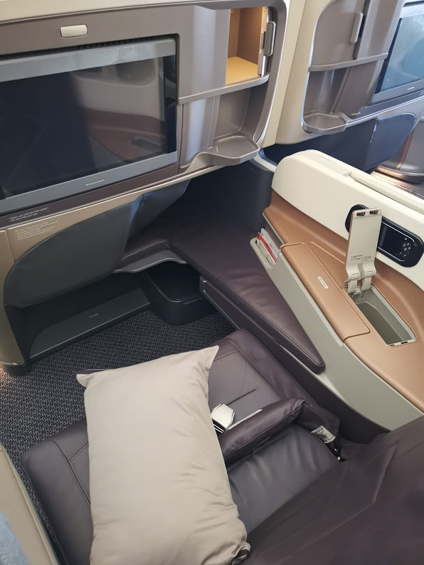Singapore Airlines Business Class Airbus A350