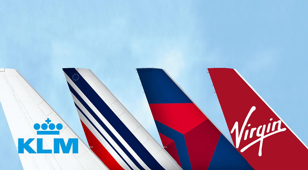 KLM, Air France, Delta, Virgin Atlantic Codeshare