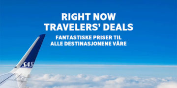 Travelers' Deals fra SAS