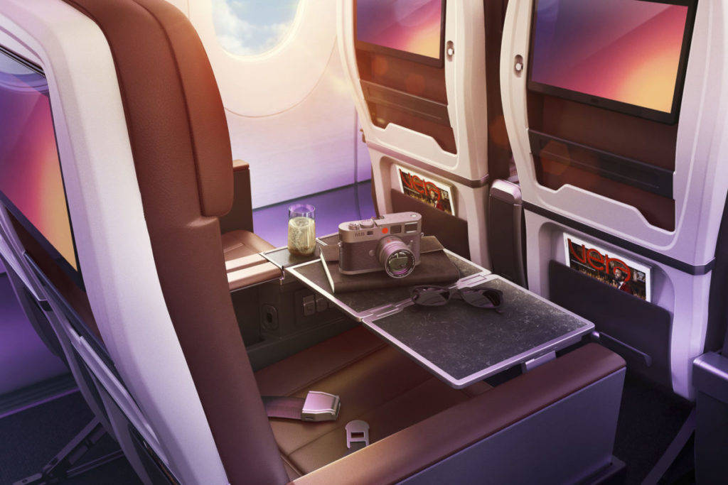 Virgin Atlantic Premium økonomiklasse