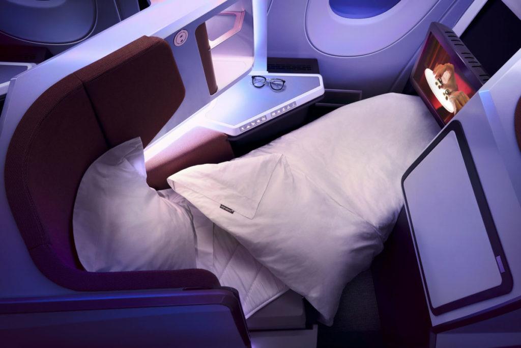 Virgin Atlantic Upper Class Business Class